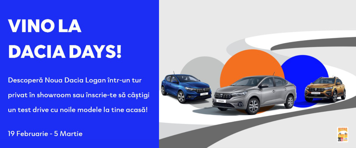 Vino la Dacia Days